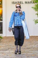 Emma Roberts Shopping on Melrose Place in Beverly Hills