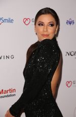 Eva Longoria Is seen at the Global Gift Gala during Art Basel 2019 at the Eden Roc Hotel, Miami