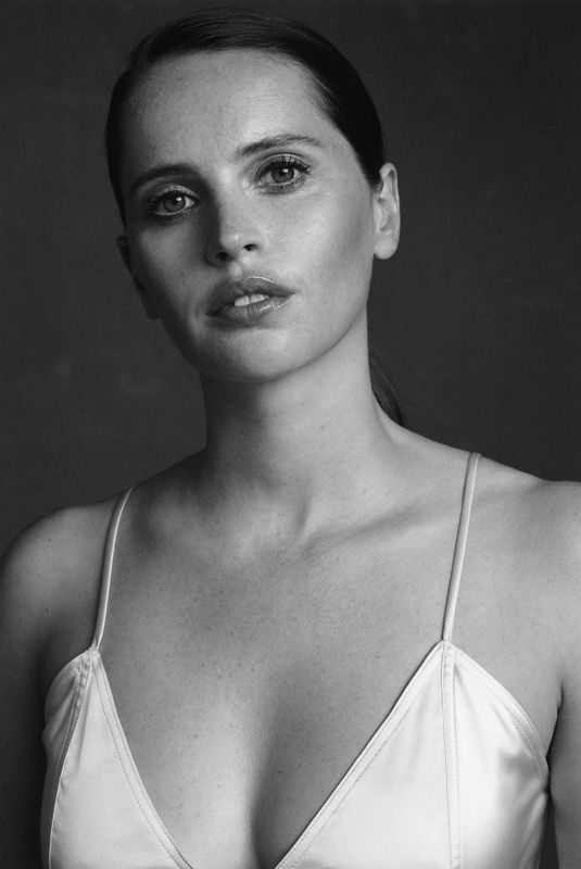 Felicity Jones - The Edit By Net-A-Porter - November 2019