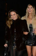 Ferne McCann, Sam Faiers & Billie Faiers At Night out in Manchester