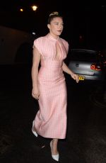 Florence Pugh Seen at the Soho Hotel in London