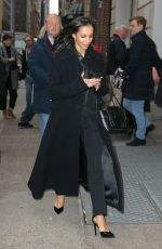 Francesca Hayward Spotted Leaving The Cats Press Junket In New York City
