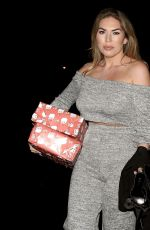 Frankie Essex Arriving at the Courthouse Hotel in Shoreditch