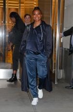 Gabrielle Union Spotted all smiling while leaving The New York & Company office in NYC