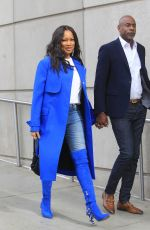 Garcelle Beauvais At Los Angeles Lakers game in Los Angeles