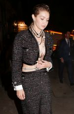 Gigi Hadid Seen leaving the Chanel after show in Paris