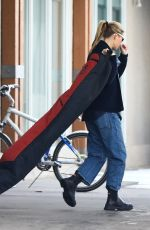 Gwyneth Paltrow and son Moses Martin get ready to hit the slopes in Aspen