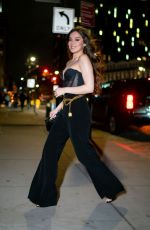 Hailee Steinfeld Seen in the meatpacking District in New York City