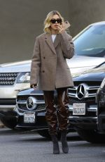 Hailey Bieber Keeps her style on point for a coffee run in Beverly Hills