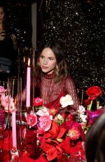 Halston Sage At Ines de la Fressange & Gherardo Felloni Celebrate Roger Vivier in New York City
