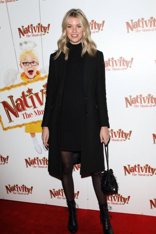 "Hannah Cooper Attends the press night performance of ""Nativity! The Musical"" at The Eventim Apollo, Hammersmith in London"