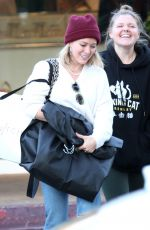 Hilary Duff Out Christmas shopping in Los Angeles