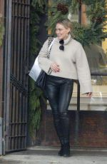 Hilary Duff Out with her family in Beverly Hills