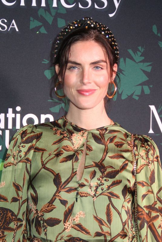Hilary Rhoda At 5th Annual Holiday Event To Benefit amfAR at the Gitano Jungle Room in New York City