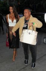 Holly Sonders Seen arriving at the Lakers game in Los Angeles