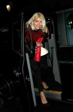 Holly Willoughby ,Christine Lampard attending Piers Morgan