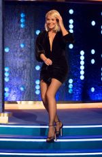 Holly Willoughby On the set of Jonathan Ross Show in London
