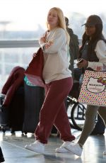 Iggy Azalea Spotted Arriving Solo at JFK Airport in New York City