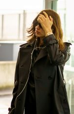 Irina Shayk Spotted flying out of Heathrow Airport
