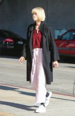 Jaime King On the way to a meeting in Los Angeles