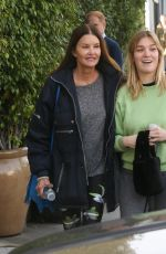 Janice Dickinson Seen with her daughter in Beverly Hills