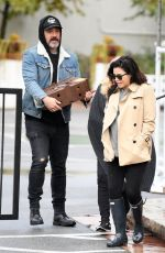 Jenna Dewan Out in Los Angeles with her boyfriend