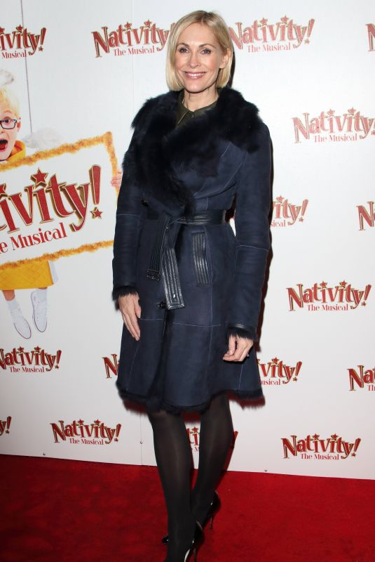 """Jenni Falconer Attends the press night performance of """"Nativity! The Musical"""" at The Eventim Apollo, Hammersmith in London"""