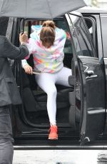 Jennifer Lopez Arrives at her gym in Miami