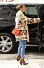 Jennifer Lopez At Last Minute Christmas Shopping in Miami
