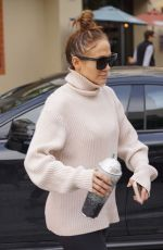 Jennifer Lopez At the gym in Los Angeles
