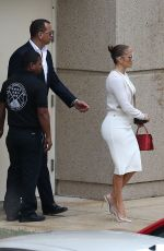 Jennifer Lopez Leaves a graduation party at the University of Miami in Miami