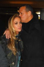 Jennifer Lopez Seen after Saturday Night Live rehearsals at the NBC Studios in New York