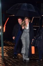 Jennifer Lopez Shows Off her Ageless Beauty as she Heads to Dinner in NYC