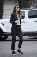 Jessica Biel Running errands in LA