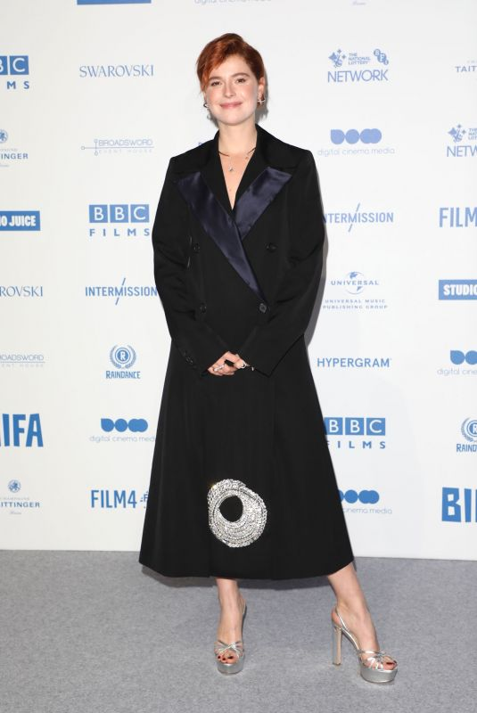 Jessie Buckley At British Independent Film Awards 2019 at Old Billingsgate in London, England