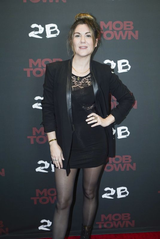 """Jordan Yorn Attends the premiere of """"Mob Town"""" at the Los Angeles Film School in Hollywood"""