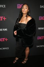 Jordyn Woods Arrives at BET+ And Footage Film