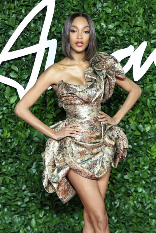 Jourdan Dunn At Fashion Awards 2019 in London