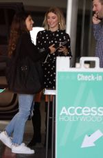 Julianne Hough Arriving at Access Hollywood in Los Angeles