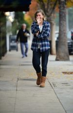 Julianne Hough Seen in Studio City
