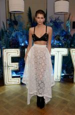 Kaia Gerber At Fenty party at Laylow in London