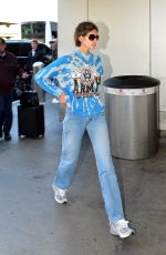 Kaia Gerber & Cindy Crawford Seen at the LAX airport in Los Angeles