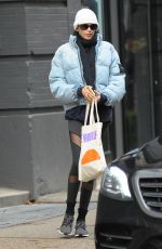 Kaia Gerber Out for coffee in NYC