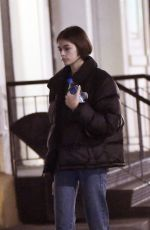 Kaia Gerber Spotted arriving back at her apartment in New York