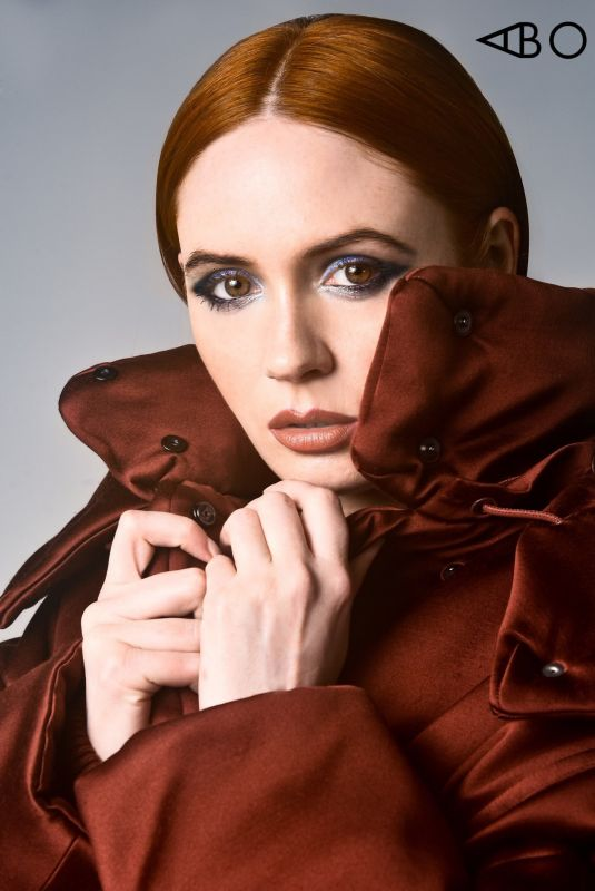 Karen Gillan - A Book Of - December 2019