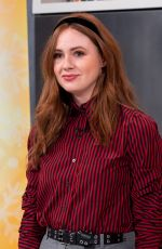 Karen Gillan Visits the