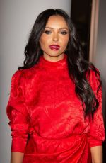 Kat Graham Attends the 2019 footwear News Achievement Awards at the IAC building in New York