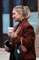 Kate Hudson Leaving the Greenwich Hotel in New York