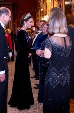 Kate Middleton At Evening reception for members of the Diplomatic Corps in London