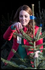 Kate Middleton Visits Family Action at Peterley Manor Farm in Great Missenden, England